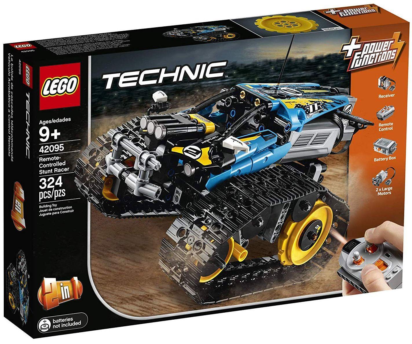 Конструктор Lego Technic - Каскадьорска кола, с дистанционно управление (42095) - 1