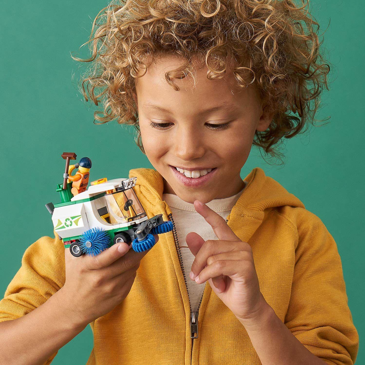 Конструктор Lego City Great Vehicles - Машина за метене на улици (60249) - 7