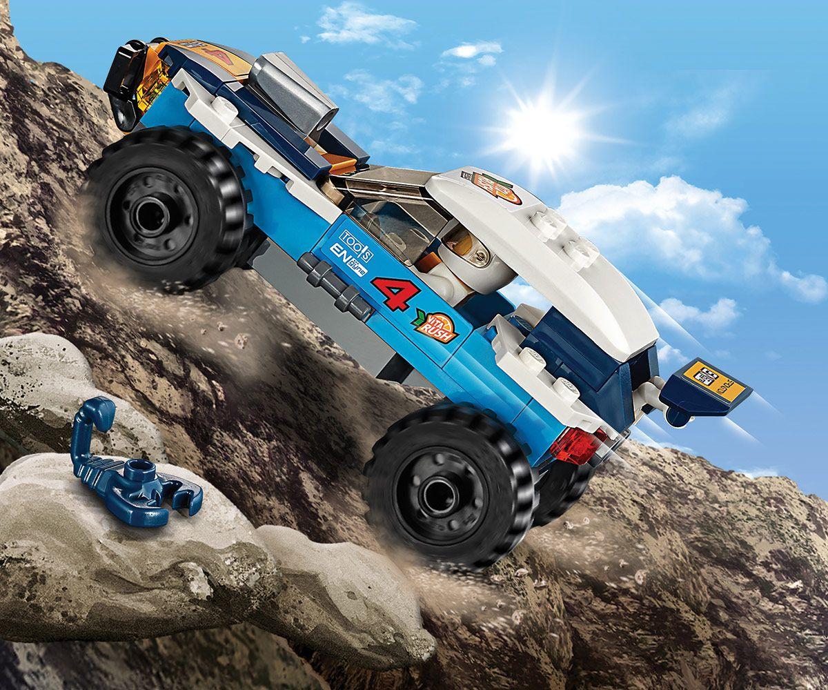 Конструктор Lego City - Кола за пустинно рали (60218) - 1