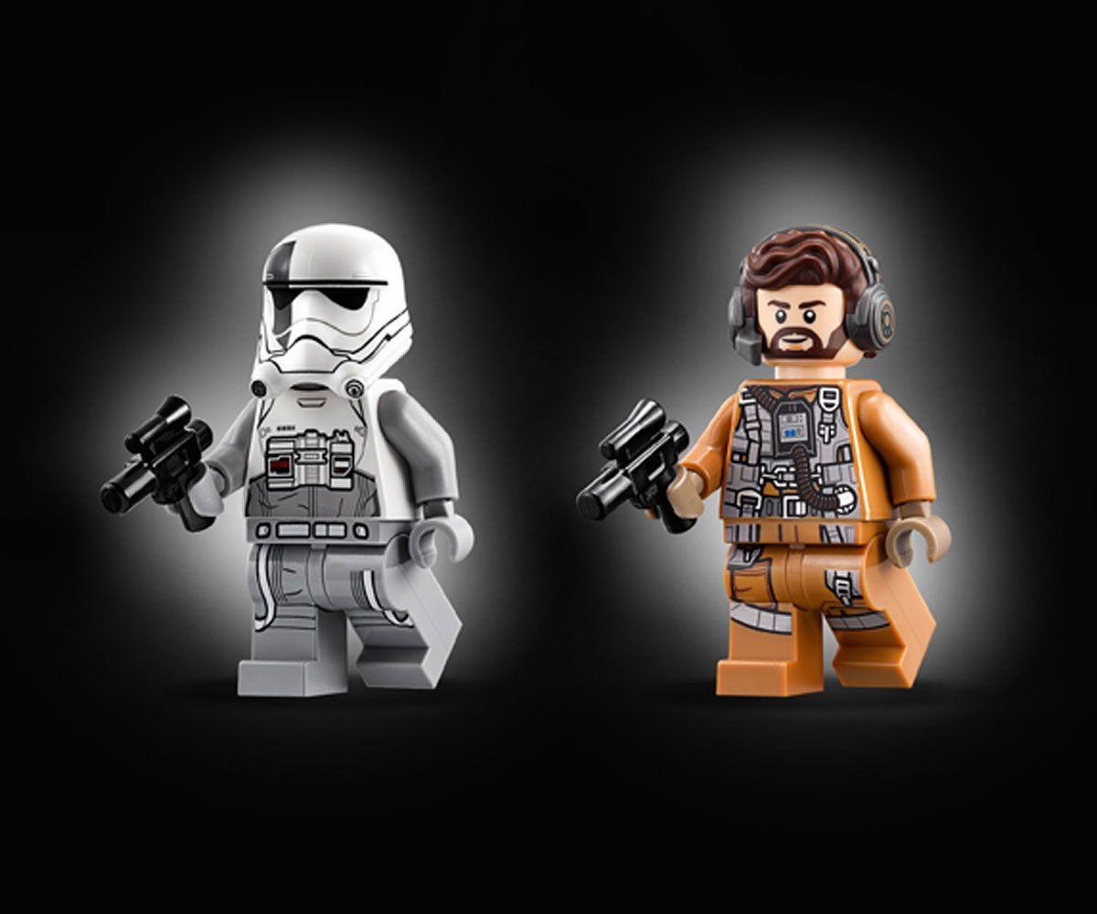 Конструктор Lego Star Wars - Ski Speeder™ vs. First Order Walker™ Microfighter (75195) - 11