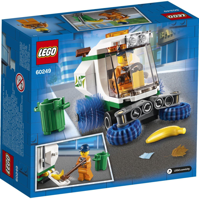 Конструктор Lego City Great Vehicles - Машина за метене на улици (60249) - 2