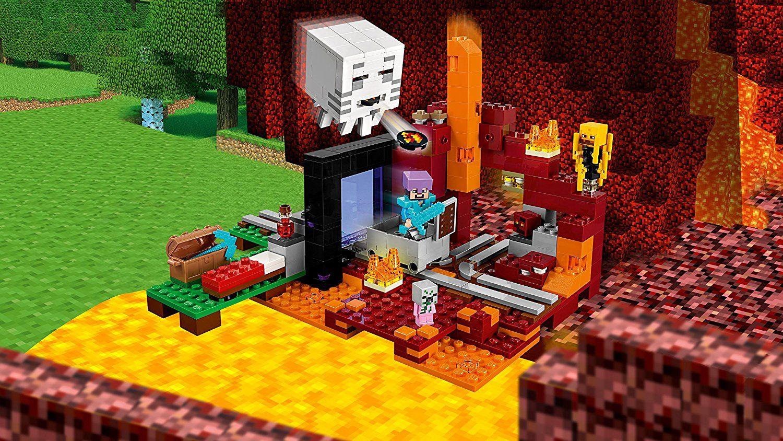 Конструктор Lego Minecraft - Портал към Ада (21143) - 6