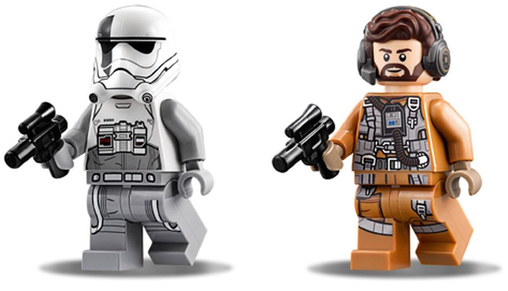 Конструктор Lego Star Wars - Ski Speeder™ vs. First Order Walker™ Microfighter (75195) - 12
