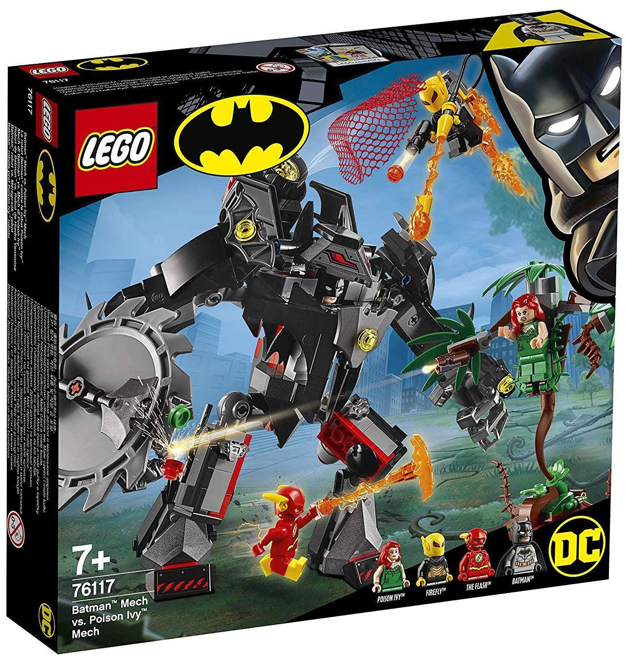 Конструктор Lego DC Super Heroes - Batman Mech vs. Poison Ivy Mech (76117) - 10