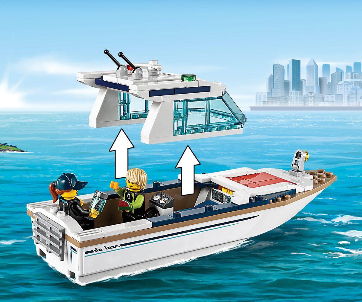 Конструктор Lego City - Яхта за гмуркане (60221) - 4