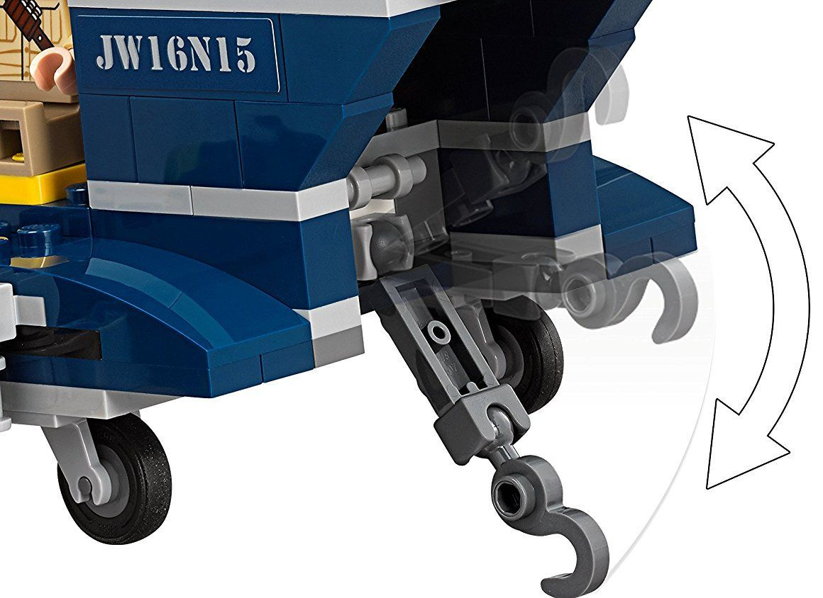 Конструктор Lego Jurassic World - Преследване с хеликоптер (75928) - 4