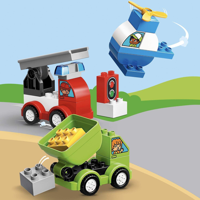 Конструктор Lego Duplo - Моите първи автомобилни творения (10886) - 4