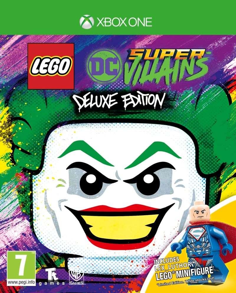 LEGO DC Super-Villains Deluxe Edition (Xbox One) - 1