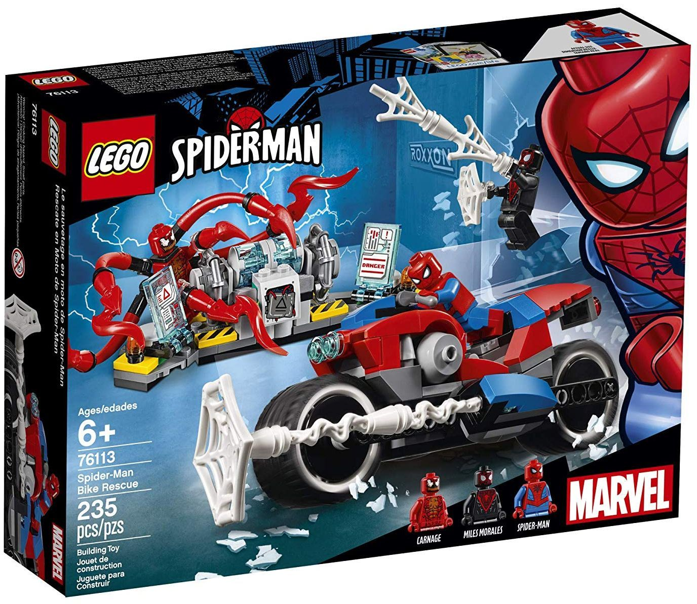 Конструктор Lego Marvel Super Heroes -Spider-Man Bike Rescue (76113) - 4