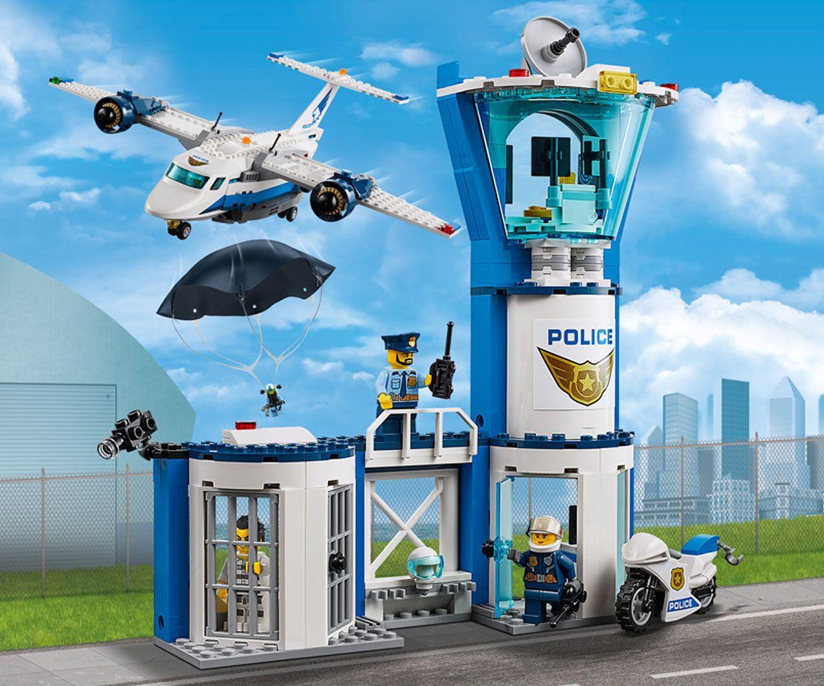 Конструктор Lego City - Полиция в небето, въздушна база (60210) - 4