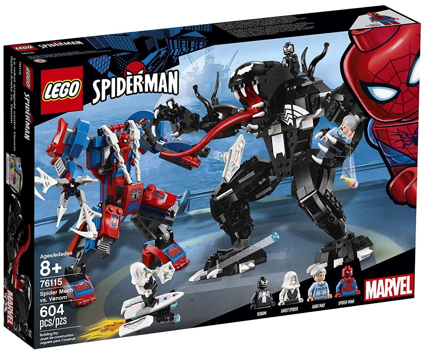 Конструктор Lego Marvel Super Heroes - Spider Mech vs. Venom (76115) - 6