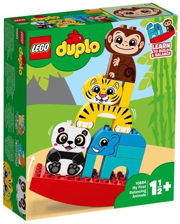 Конструктор Lego Duplo - Моите първи балансиращи животни (10884) - 1