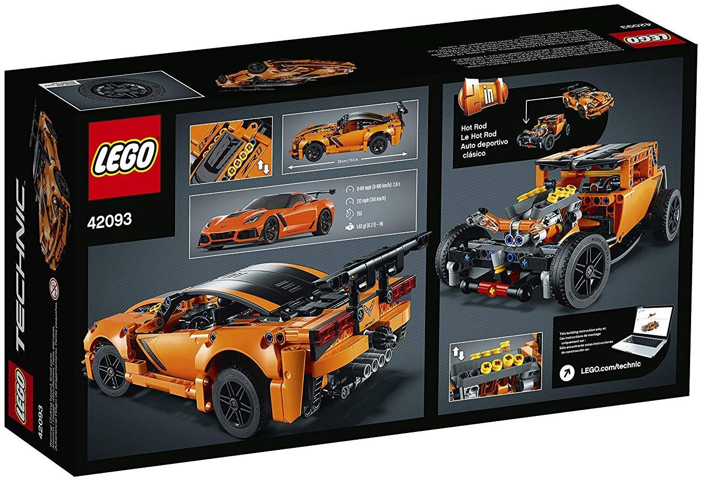 Конструктор Lego Technic - Chevrolet Corvette ZR1 (42093) - 9
