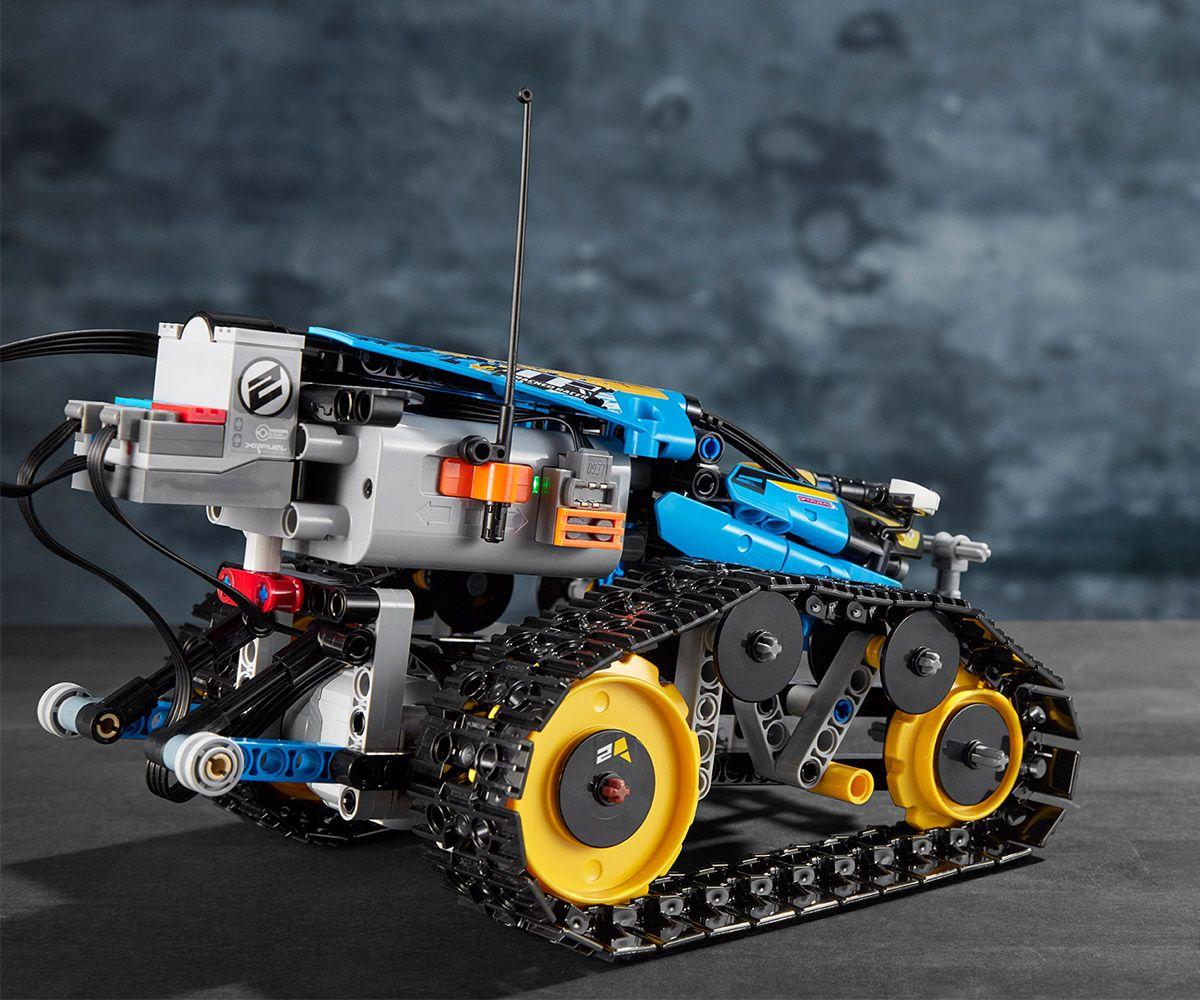 Конструктор Lego Technic - Каскадьорска кола, с дистанционно управление (42095) - 8
