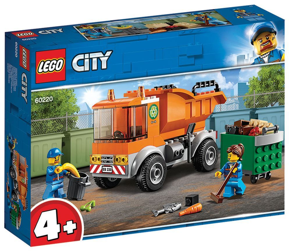 Конструктор Lego City - Боклукчийски камион (60220) - 10