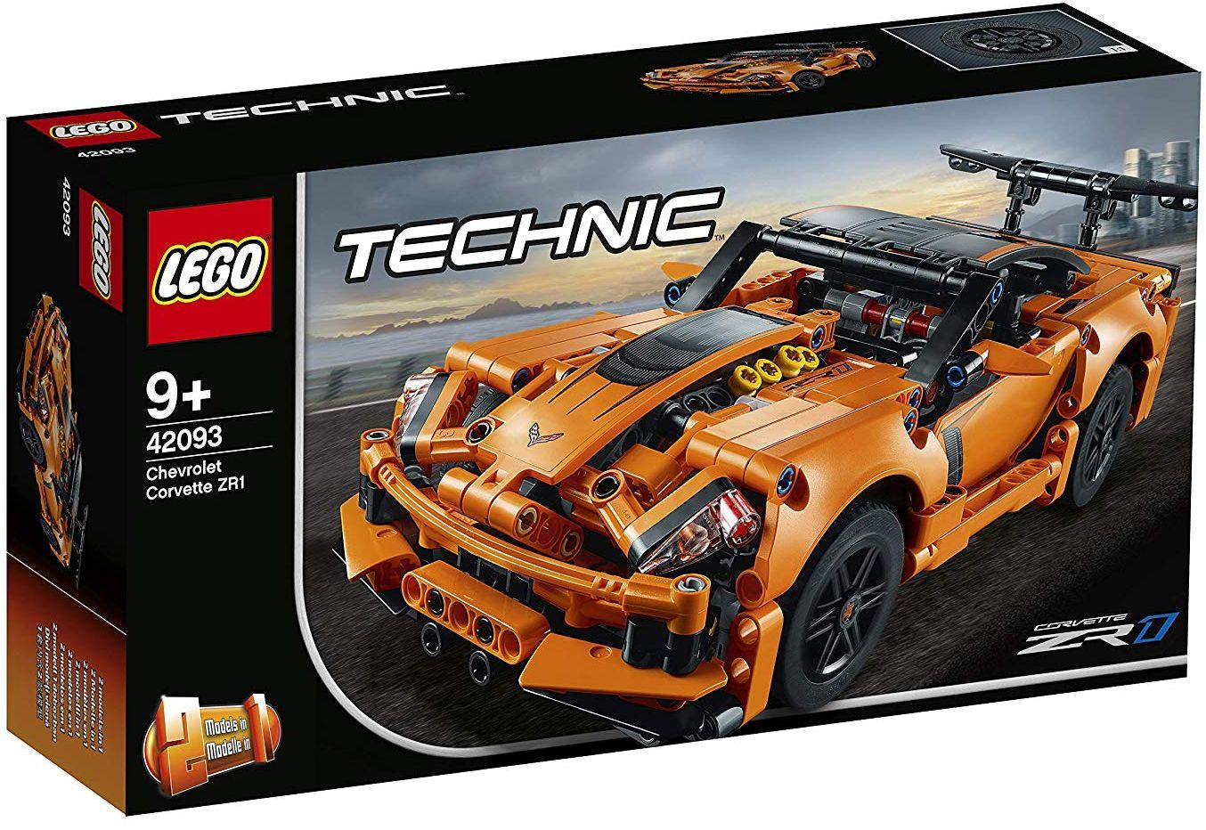 Конструктор Lego Technic - Chevrolet Corvette ZR1 (42093) - 10