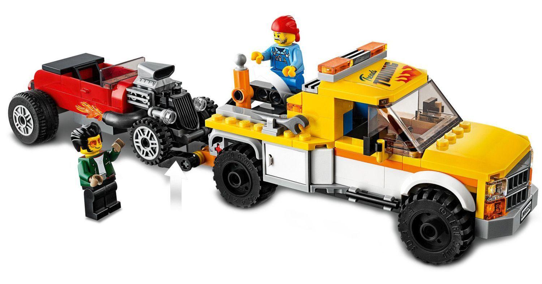 Конструктор Lego City Nitro Wheels - Сервиз за тунинг (60258) - 7