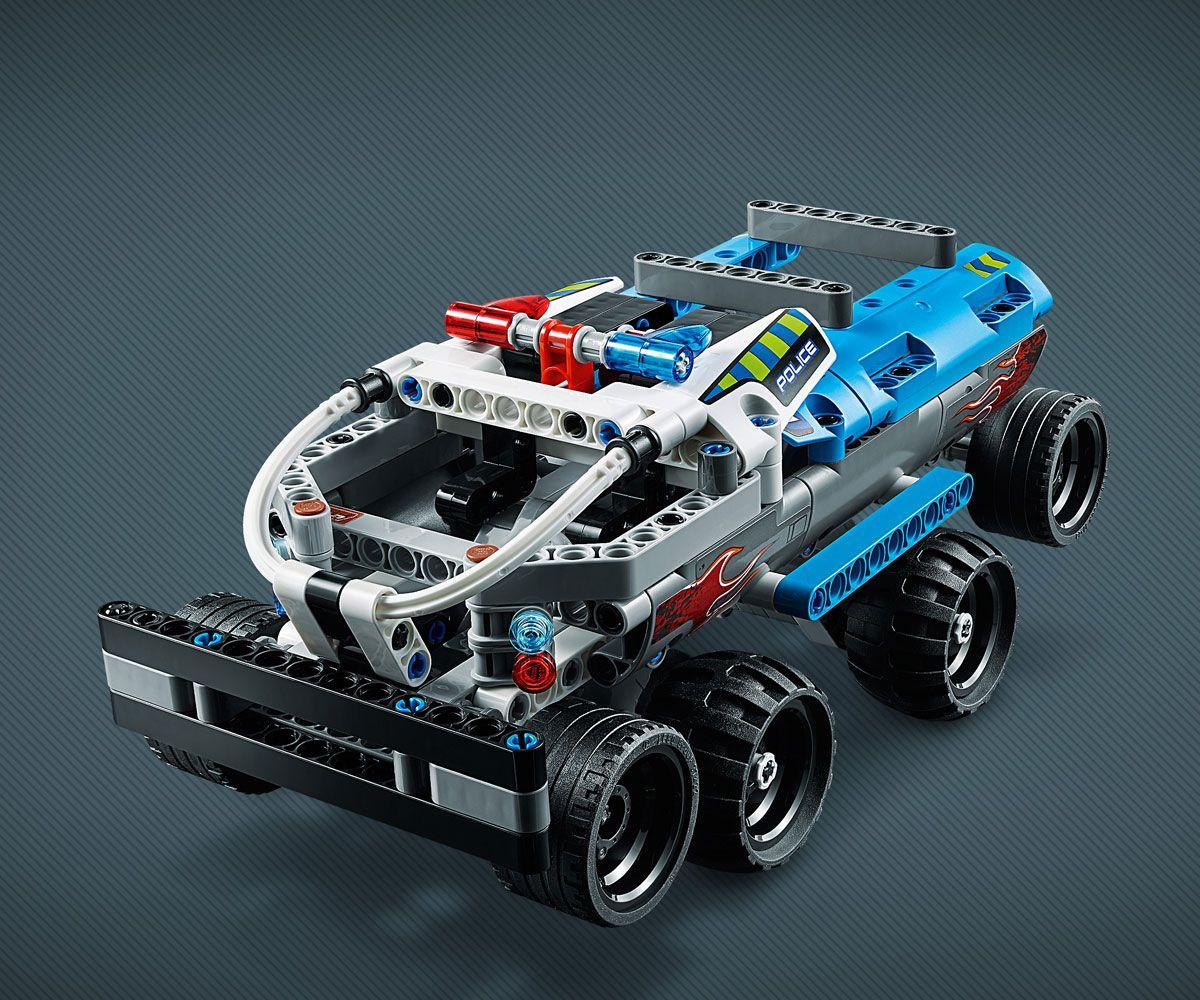 Конструктор Lego Technic - Камион за бягство (42090) - 8