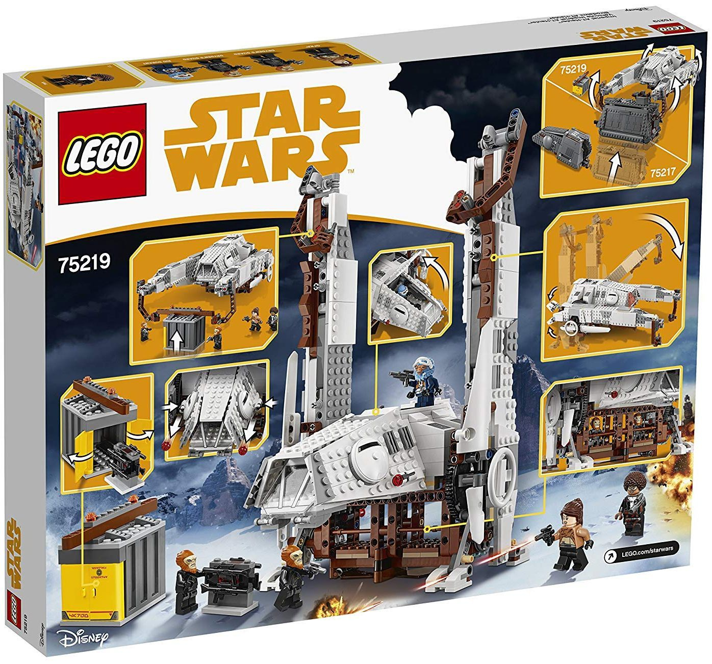 Конструктор Lego Star Wars - Imperial AT-Hauler (75219) - 4