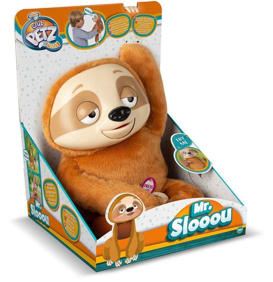 Интерактивна плюшена играчка IMC Toys - Ленивец Mr Slooou - 5