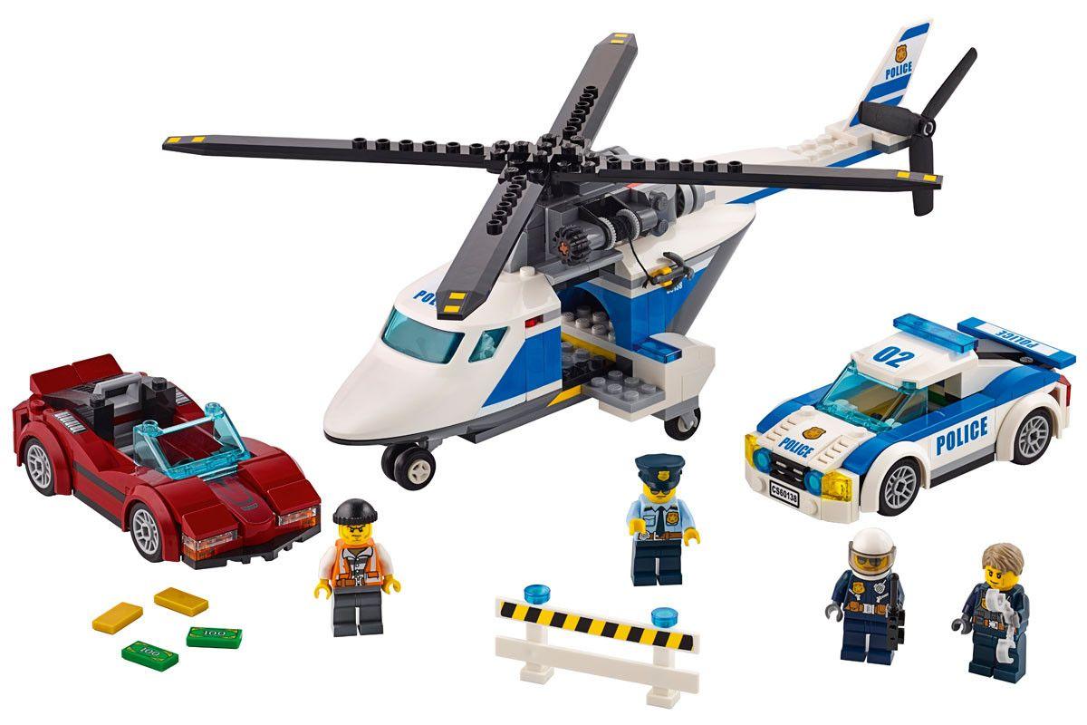 Конструктор Lego City - Скоростно преследване (60138) - 5
