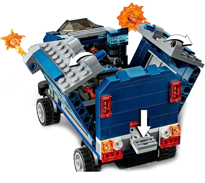 Конструктор Lego Marvel Super Heroes - Avengers: схватка с камион (76143) - 6