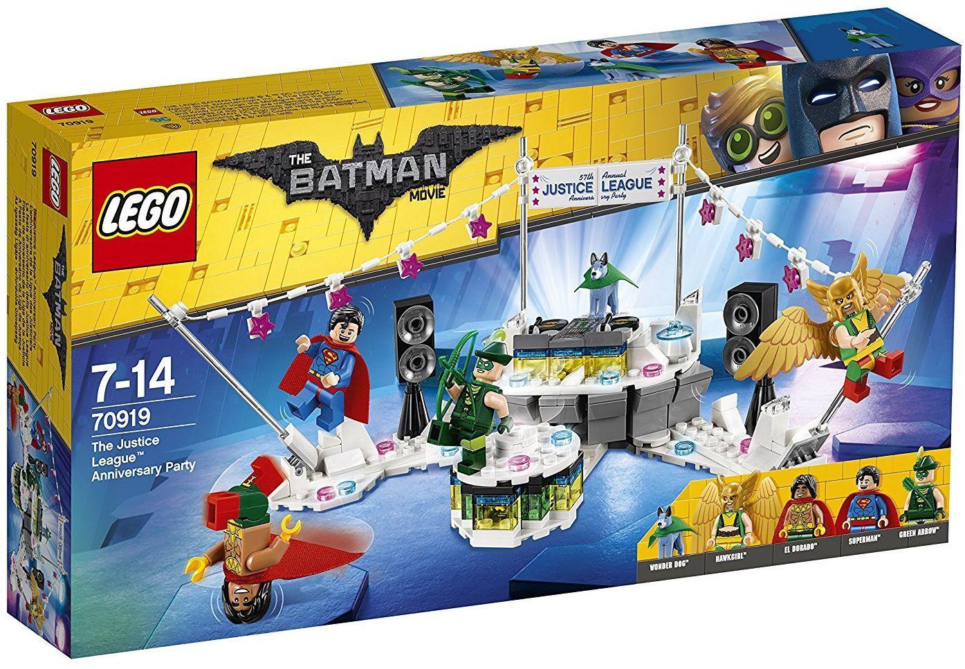 Конструктор Lego Batman Movie - Парти на Лигата на справедливостта (70919) - 1