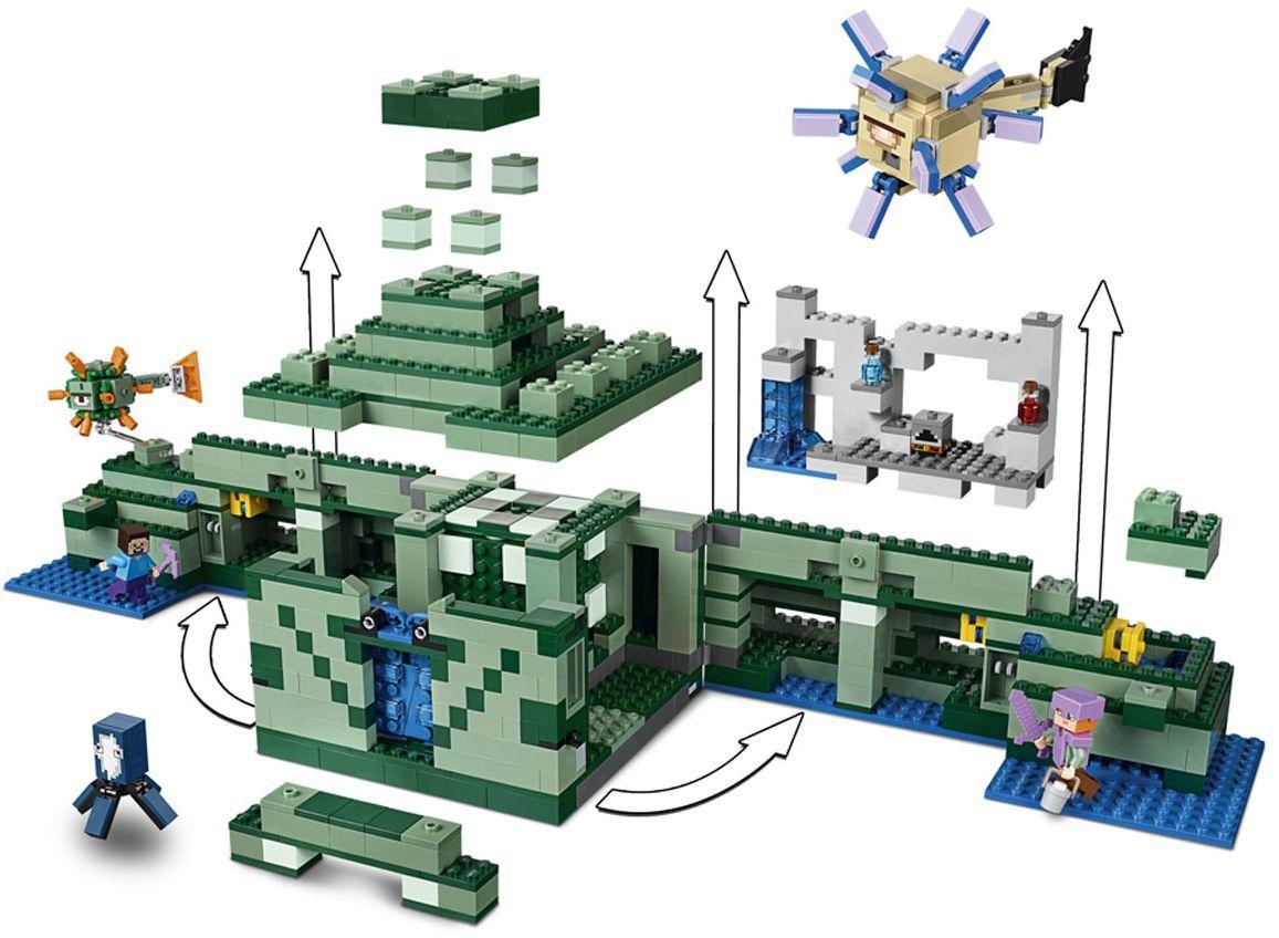 Конструктор Lego Minecraft - Океански монумент (21136) - 9