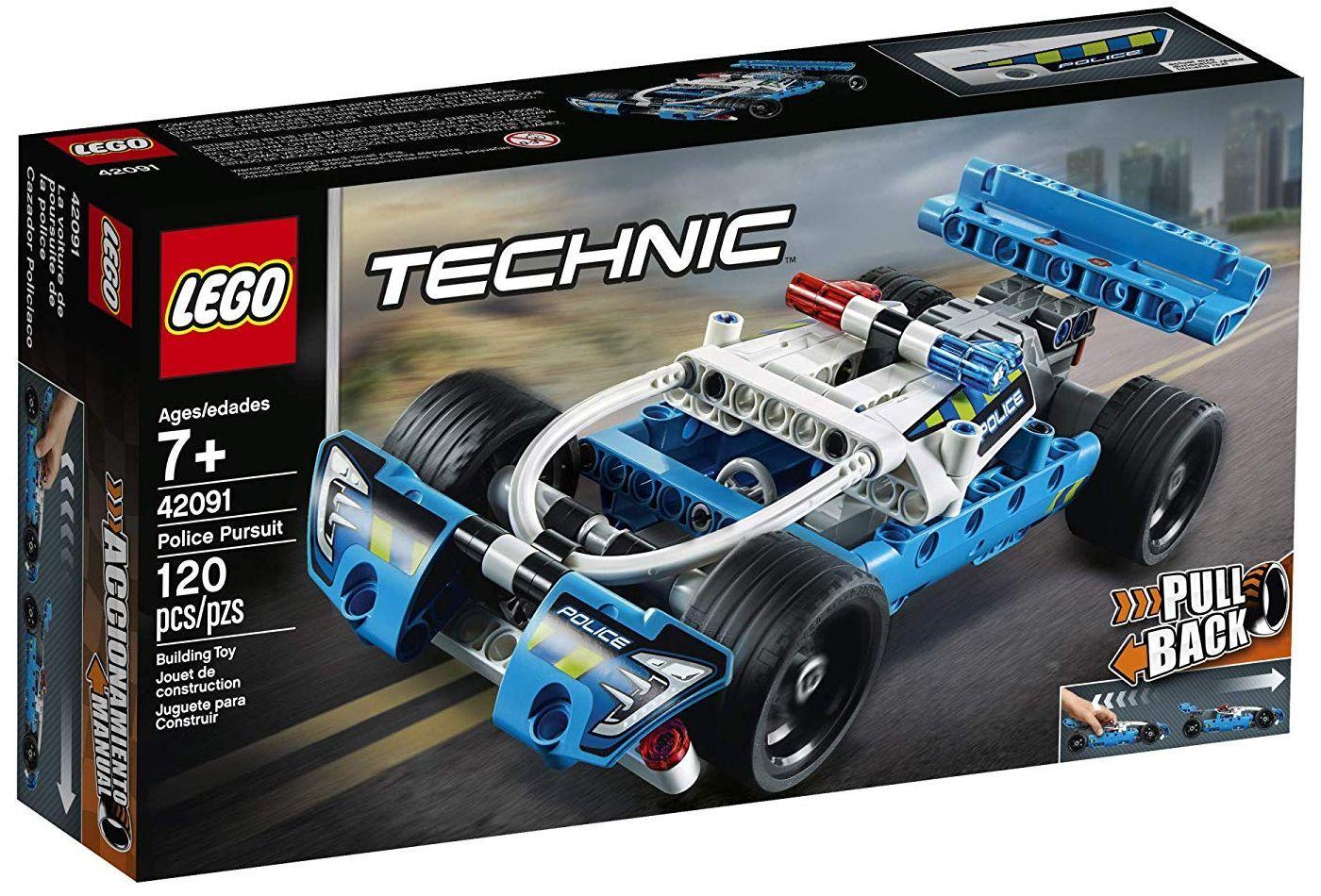 Конструктор Lego Technic - Полицейско преследване (42091) - 5