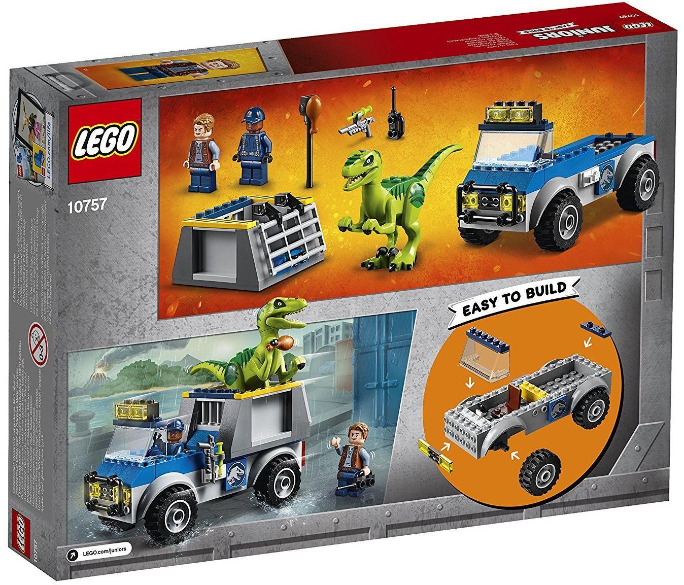 Конструктор Lego Juniors - Спасителен камион за Раптор - 3
