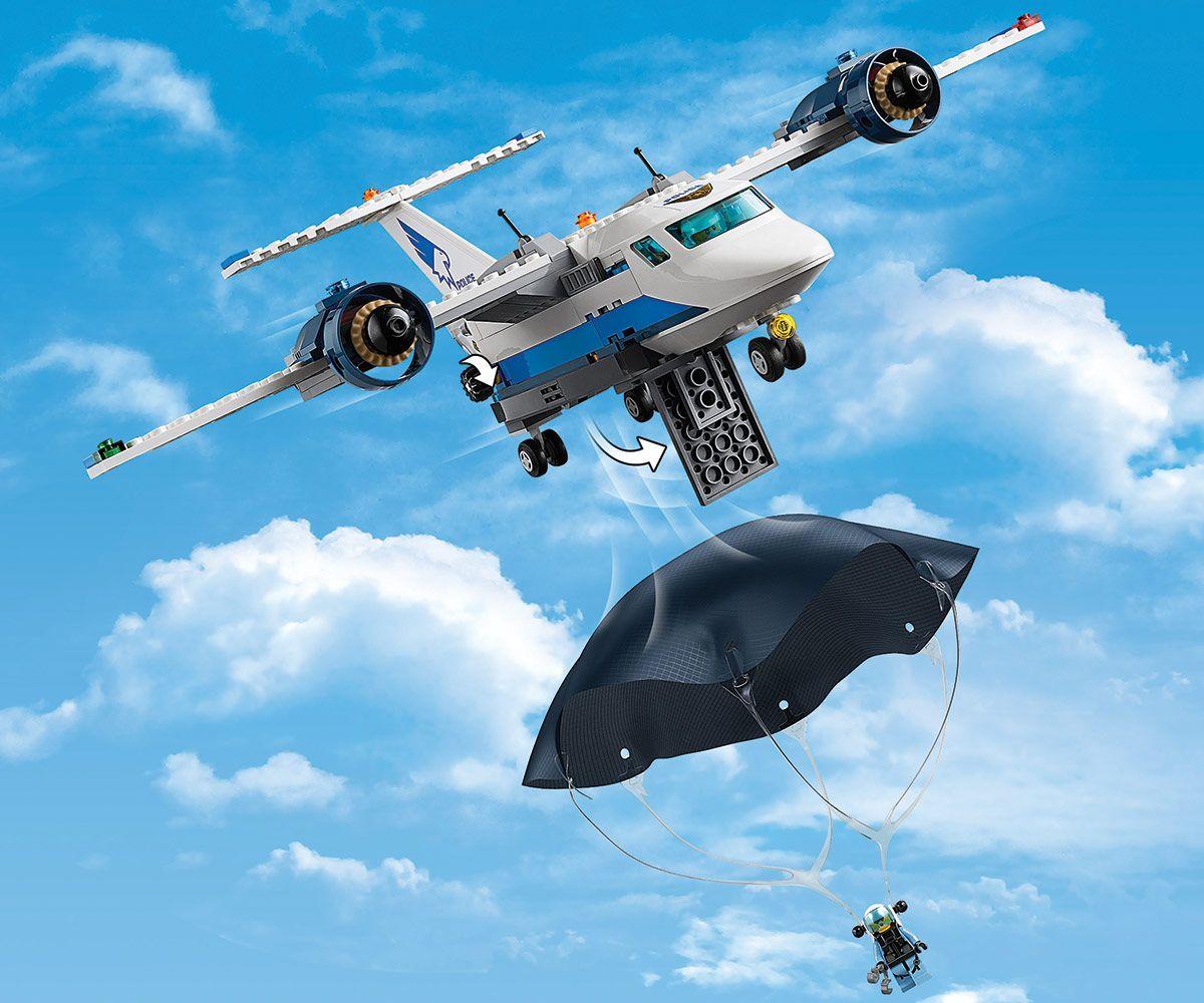 Конструктор Lego City - Полиция в небето, въздушна база (60210) - 6