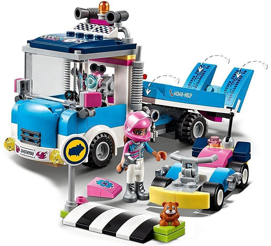 Конструктор Lego Friends - Камион за обслужване (41348) - 8