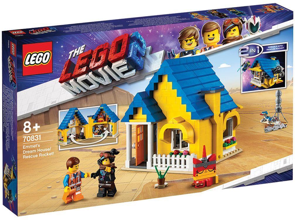 Конструктор Lego Movie 2 - Къща-мечта/ракета за бягство на Емет (70831) - 8