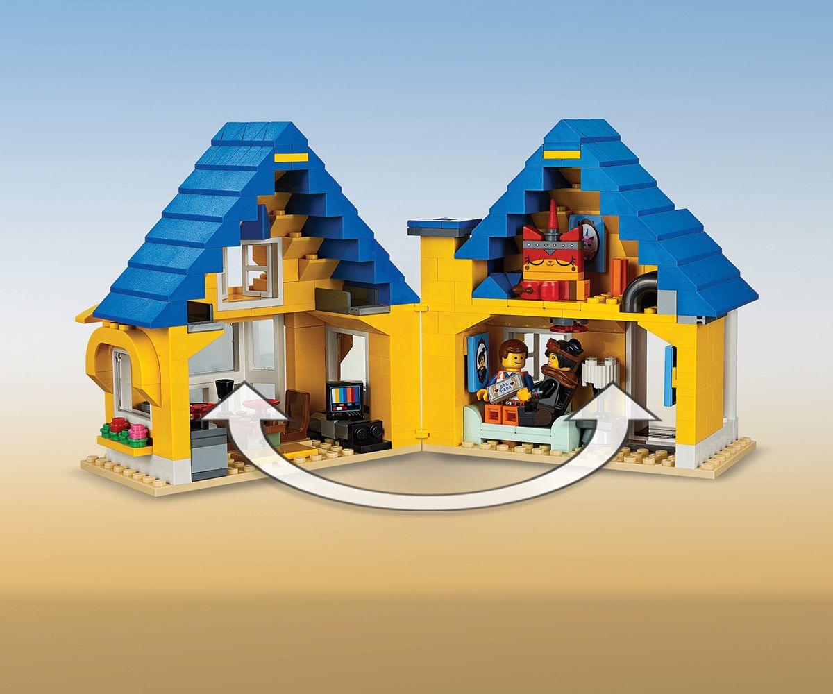 Конструктор Lego Movie 2 - Къща-мечта/ракета за бягство на Емет (70831) - 4