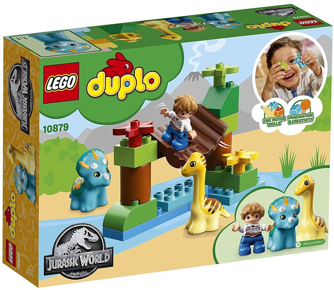 Конструктор Lego Duplo - Зоологическа градина за дружелюбни гиганти (10879) - 6