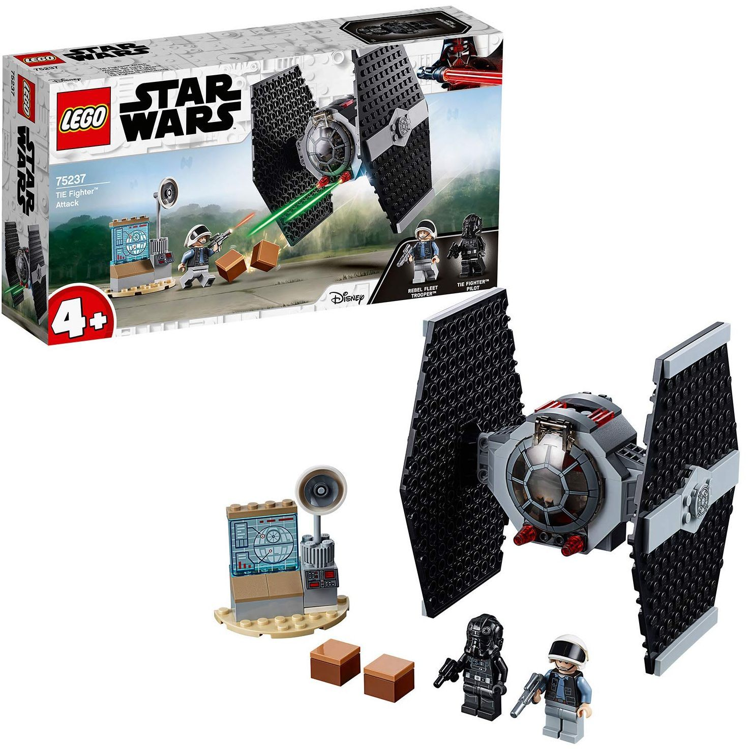 Конструктор Lego Star Wars - TIE Fighter Attack (75237) - 5