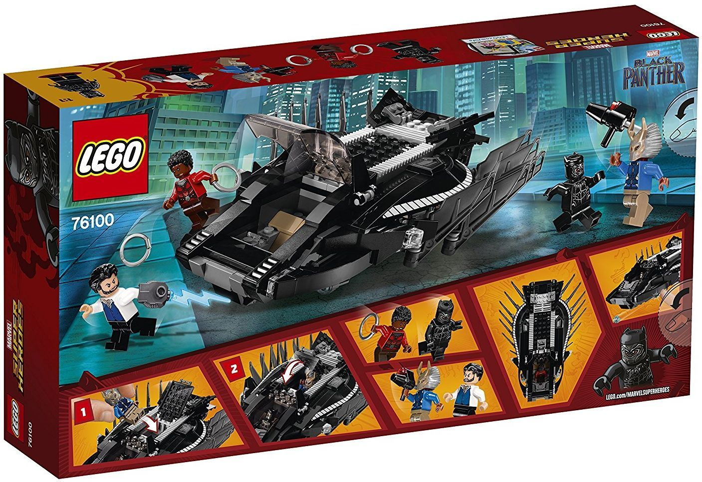 Конструктор Lego Super Heroes - Royal Talon Fighter Attack (76100) - 5
