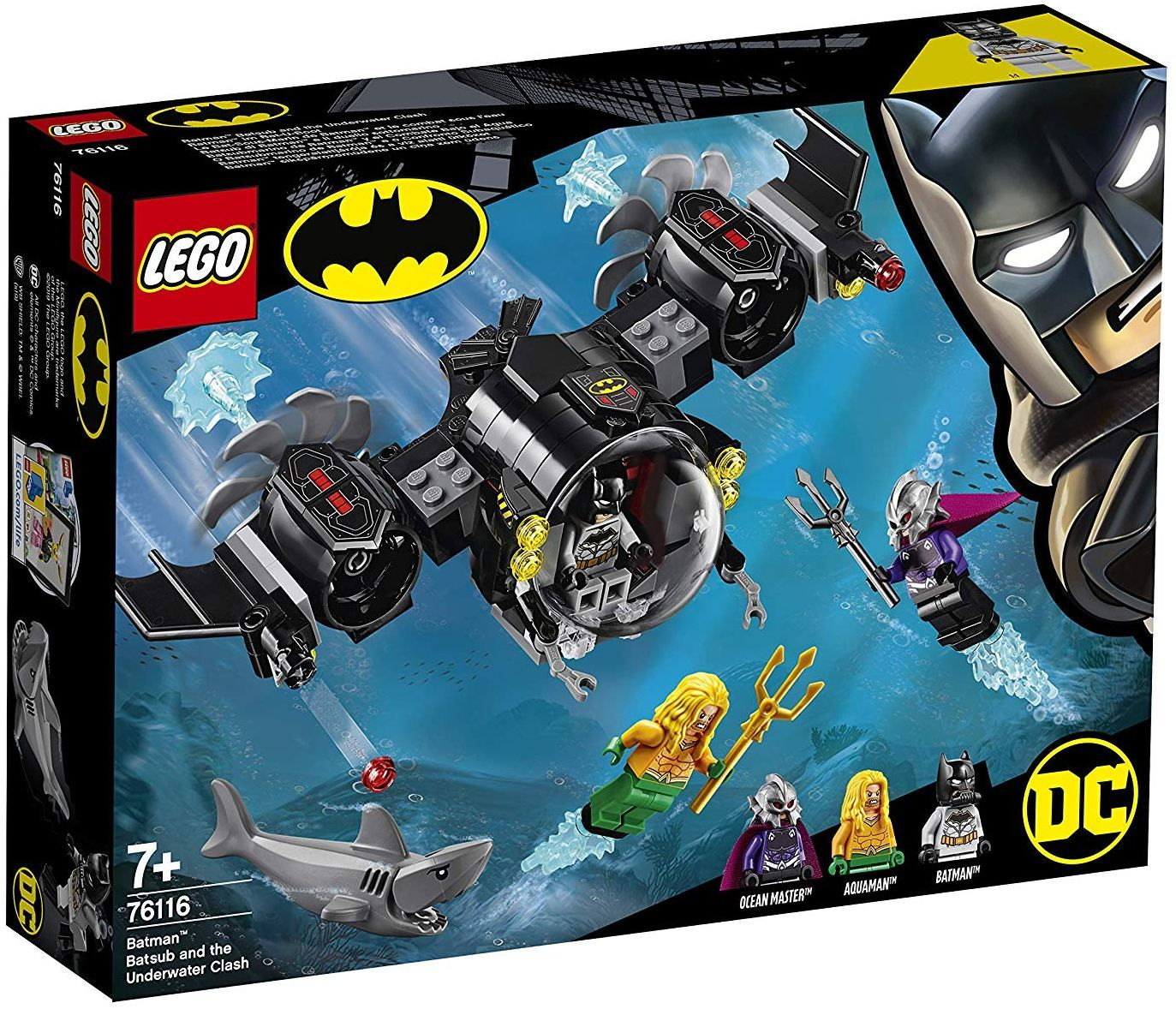 Конструктор Lego DC Super Heroes - Batman Batsub and the Underwater Clash (76116) - 7