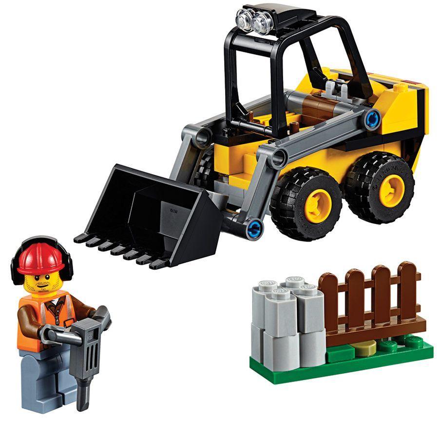 Конструктор Lego City - Строителен товарач (60219) - 5