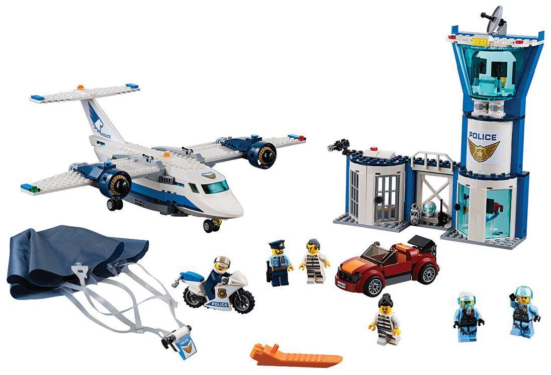 Конструктор Lego City - Полиция в небето, въздушна база (60210) - 8