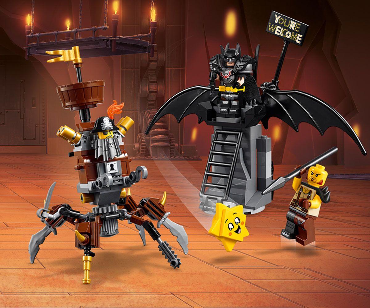 Конструктор Lego Movie 2 - Батман, готов за битка, и Железният (70836) - 4