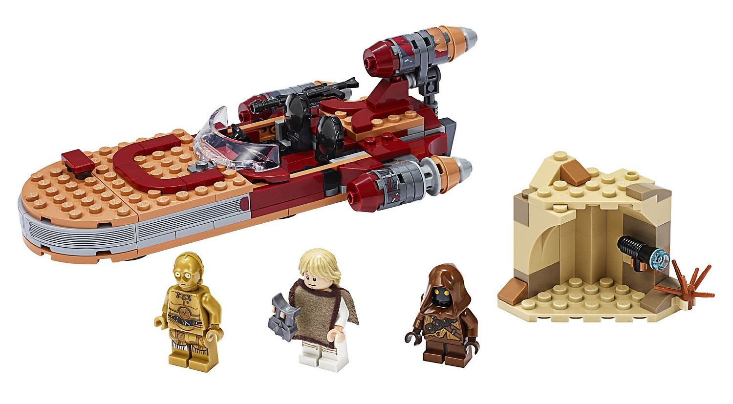 Конструктор Lego Star Wars - Luke Skywalker's Landspeeder (75271) - 3