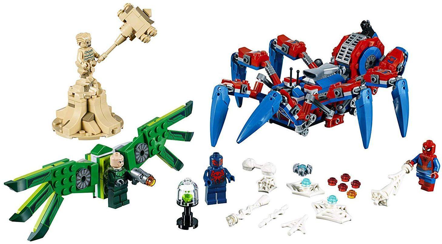 Конструктор Lego Marvel Super Heroes - Машината на Spider-Man (76114) - 3