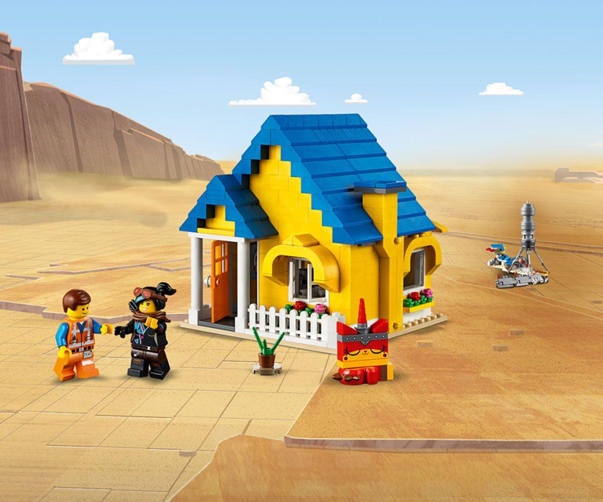 Конструктор Lego Movie 2 - Къща-мечта/ракета за бягство на Емет (70831) - 5