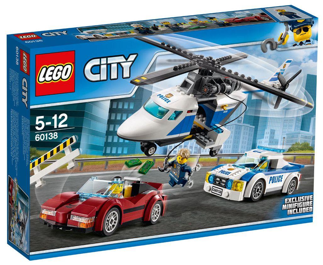 Конструктор Lego City - Скоростно преследване (60138) - 1