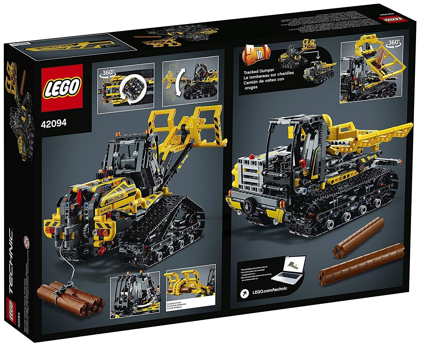 Конструктор Lego Technic - Верижен товарач (42094) - 12