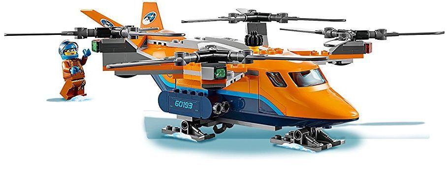 Конструктор Lego City - Арктически въздушен транспортьор (60193) - 4