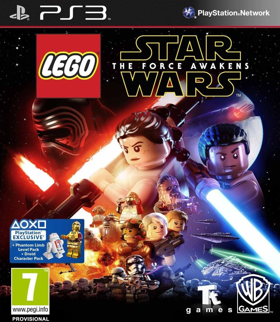 LEGO Star Wars The Force Awakens (PS3) - 1