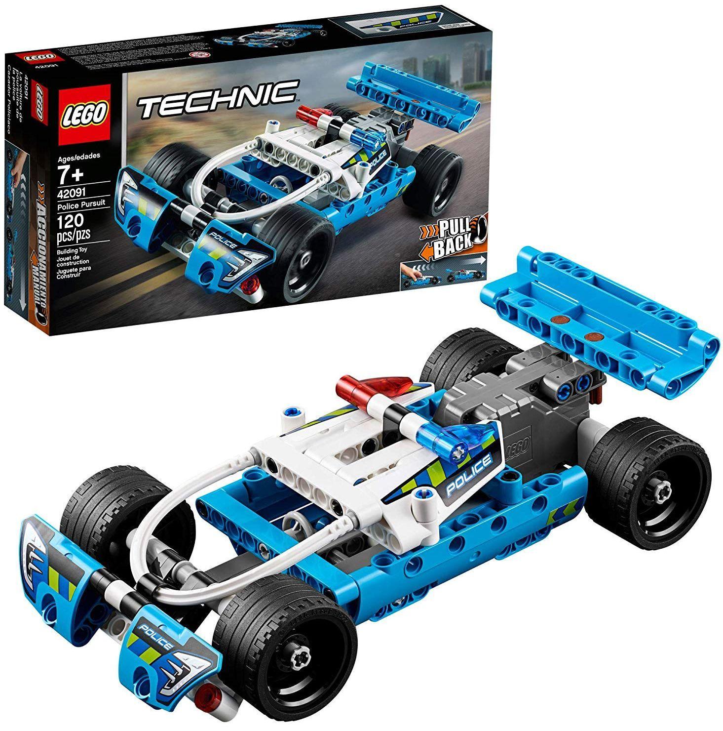 Конструктор Lego Technic - Полицейско преследване (42091) - 1