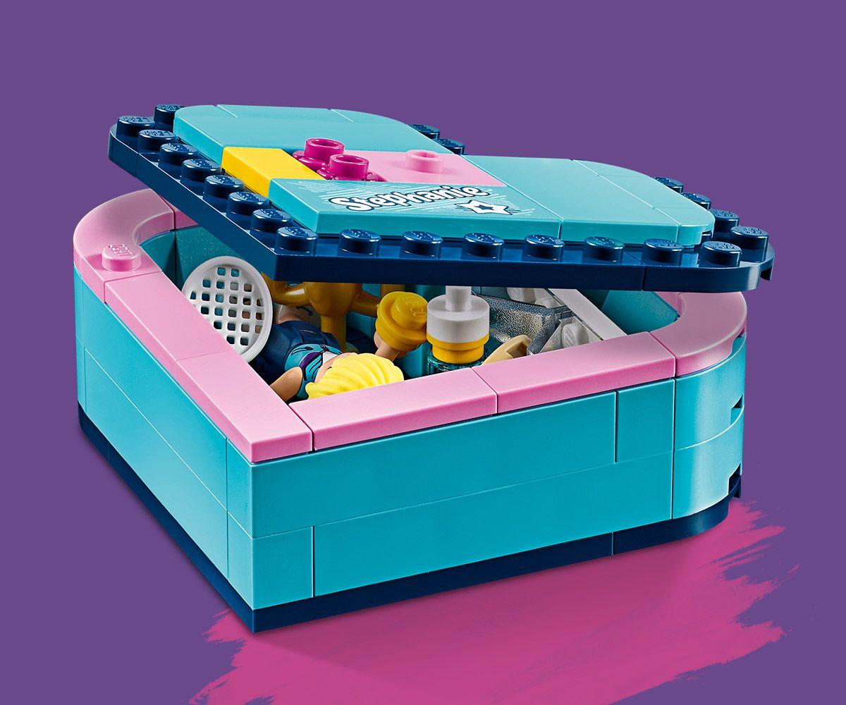 Конструктор Lego Friends - Кутията с форма на сърце на Stephanie (41356) - 7